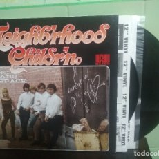 Discos de vinilo: NEIGHB'RHOOD CHILDR'N LONG YEARS IN SPACE LP USA 1997 PEPETO TOP . Lote 179225726