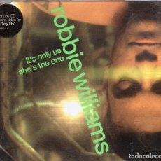 Dischi in vinile: ROBBIE WILLIAMS - IT'S ONLY US / SHE'S THE ONE - CD SINGLE ENH - EU 1999 - CHRYSALIS - CDCHSS 5112. Lote 179228435