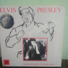 Discos de vinilo: ELVIS PRESLEY ELVIS 10 INCHES LP COLLECTION 10 PULGADAS FRANCIA 1985 PEPETO TOP . Lote 179232332