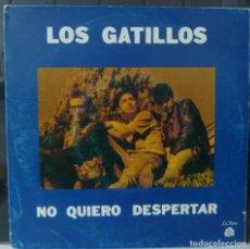 Discos de vinilo: LOS GATILLOS//NO QUIERO DESPERTAR+1//1990//SINGLE. Lote 179235557