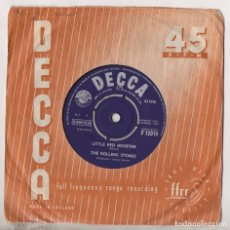 Discos de vinilo: THE ROLLING STONES LITTLE RED ROOSTER / OFF THE HOOK 1964 ORIGINAL UK SINGLE DECCA F.12014. Lote 179238988