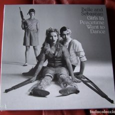 Discos de vinilo: BELLE & SEBASTIAN - GIRLS IN PEACETIME WANT TO DANCE 4LP CAJA. Lote 179239472