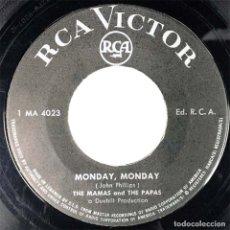 Discos de vinilo: MAMA'S AND PAPA'S - MONDAY, MONDAY. Lote 179243685