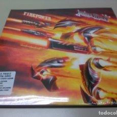Discos de vinilo: JUDAS PRIEST - 2 LP - FIREPOWER - VINILO TRANSPARENTE - EDICION LIMITADA 500 COPIAS - PRECINTADO. Lote 179245506