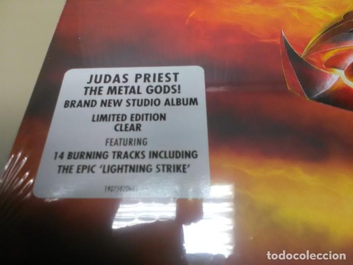 Discos de vinilo: JUDAS PRIEST - 2 LP - FIREPOWER - VINILO TRANSPARENTE - EDICION LIMITADA 500 COPIAS - PRECINTADO - Foto 2 - 179245506