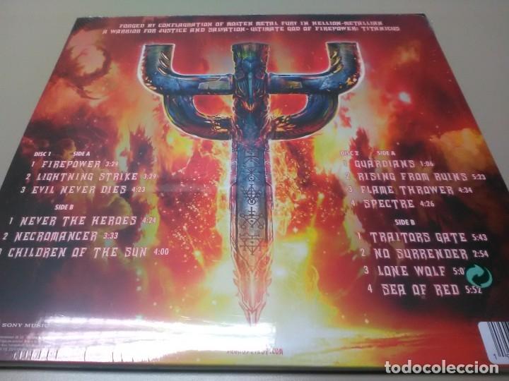 Discos de vinilo: JUDAS PRIEST - 2 LP - FIREPOWER - VINILO TRANSPARENTE - EDICION LIMITADA 500 COPIAS - PRECINTADO - Foto 3 - 179245506