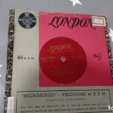 Discos de vinilo: E P ( VINILO) DE ROLAND PEACHEY Y SU ORQUESTA HAWAIANA AÑOS 50. Lote 179245556