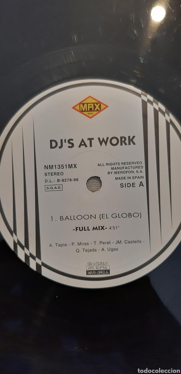 Discos de vinilo: DJ AT WORK. Lp - Foto 3 - 179246041