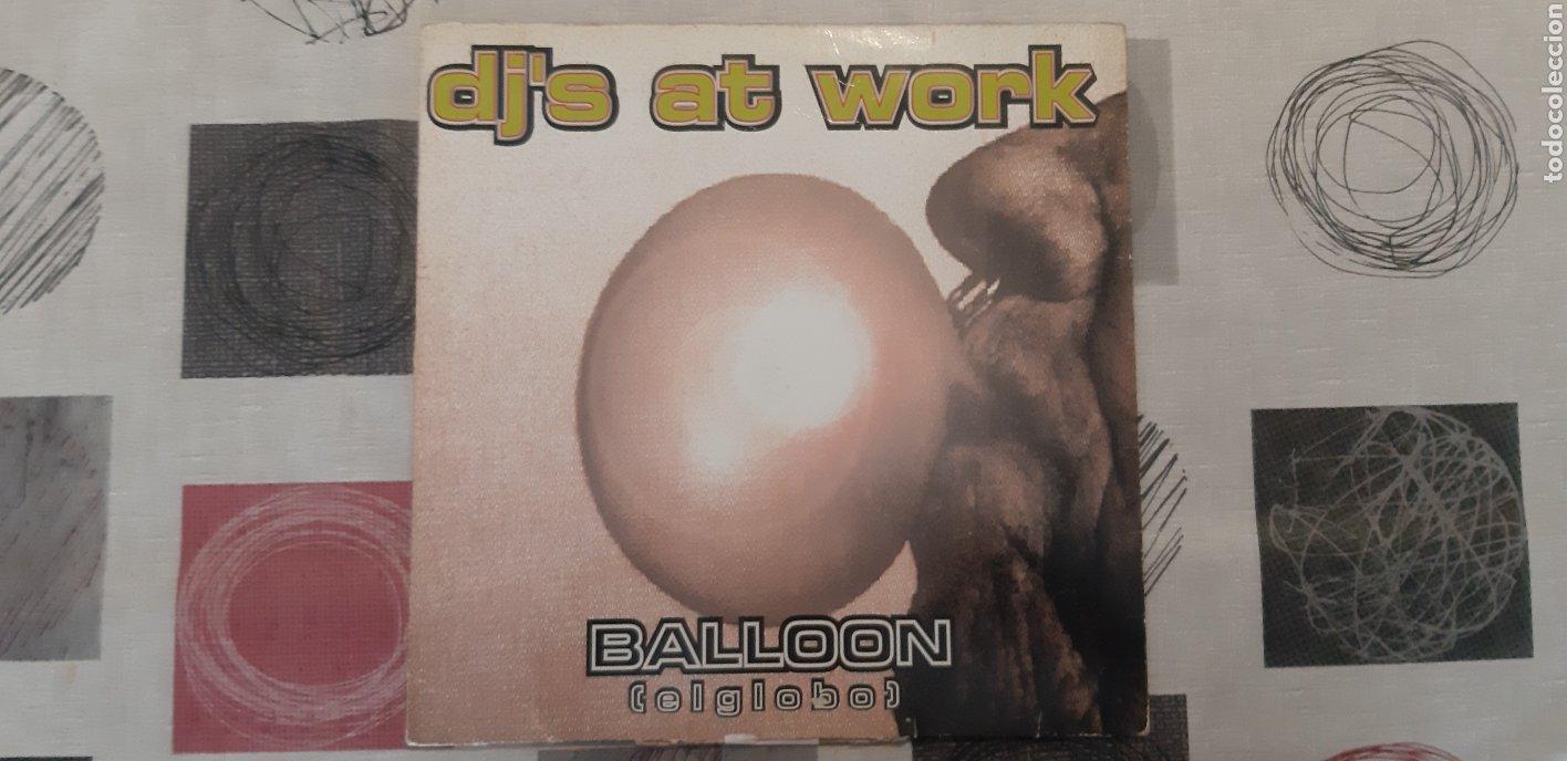 DJ AT WORK. LP (Música - Discos de Vinilo - Maxi Singles - Techno, Trance y House)