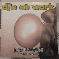 Discos de vinilo: DJ AT WORK. LP. Lote 179246041