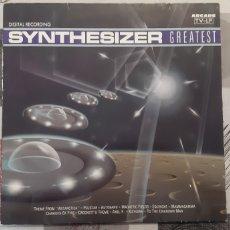 Discos de vinilo: SYNTHESIZER. GREATEST. ARCADE. 1990. SPAIN. Lote 179246250