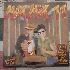 Discos de vinilo: MAX MIX 11. LP DOBLE.. Lote 179247517