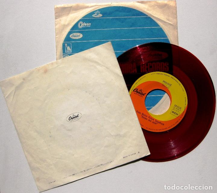 Discos de vinilo: Nino Rota - Romeo & Juliet - Single Capitol Records 1968 RED Japan BPY - Foto 2 - 179249820