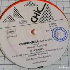 Discos de vinilo: MARTINELLI - CENERENTOLA (CINDERELLA) - 1985. Lote 179253941