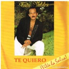 Discos de vinilo: TITO VALDES - TE QUIERO / PREGUNTA POR AHI - SINGLE 1991 - PROMO. Lote 179253995
