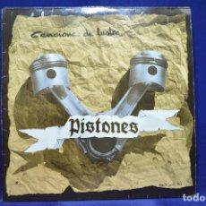 Discos de vinilo: PISTONES - CANCIONES DE LUSTRE - LP. Lote 179254130