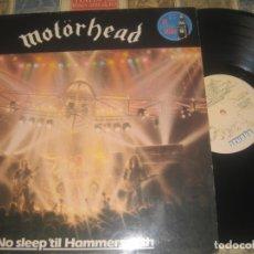 Discos de vinilo: MOTORHEAD, NO SLEEP´TIL HAMMERSMITH,(BRONCE,RECORDS,1981), OG ESPAÑA. Lote 179256465