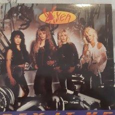 Discos de vinilo: LP VIXEN. REV IT UP. EMI. 1990. ESPAÑA.. Lote 179272247
