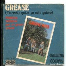 Discos de vinilo: GRUPO NINS. GREASE. CARDISC 1978.. Lote 179309423