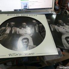 Discos de vinilo: BILLIE HOLIDAY LP PICTURE DISC BILLIE'S BLUES 2017. Lote 179309548