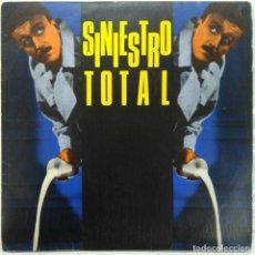 Disques de vinyle: SINIESTRO TOTAL -MÁS VALE SER PUNKIE... -TRABAJAR PARA EL ENEMIGO. Lote 179309666