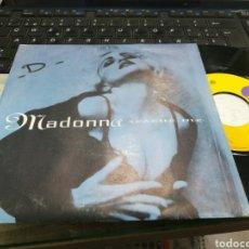 Discos de vinilo: MADONNA SINGLE RESCUE ME FRANCIA 1991. Lote 179310636