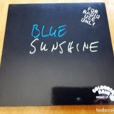 Discos de vinilo: CAPTAIN ILOR BLUE SUNSHINE (COLOURED RAIN CR 014/82 LP - GERMANY 1996) PSYCH PROG ORIGINAL LP. Lote 179313407