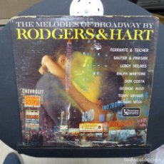Discos de vinilo: THE MELODIES OF BROADWAY BY RODGERS & HART. Lote 179313425