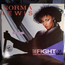 Discos de vinilo: NORMA LEWIS -LA LUCHA (THE FIGHT(FOR THE SINGLE FAMILY). Lote 179316680