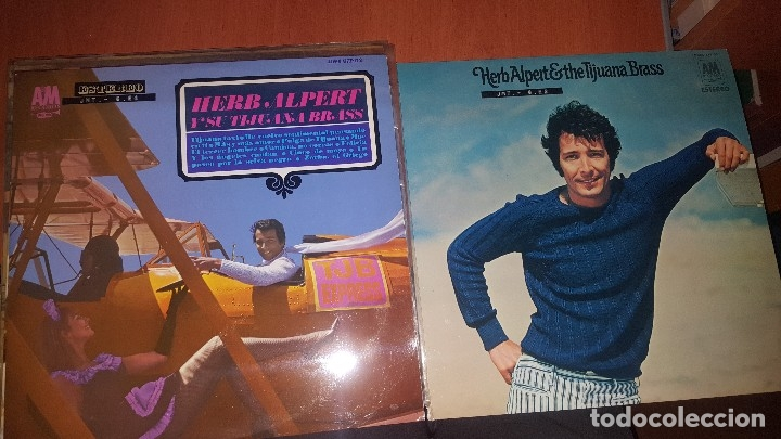 HERB ALPERT THE TIJUANA BRASS, 6 LPS, MUY BIEN CONSERVADOS (Música - Discos - LP Vinilo - Jazz, Jazz-Rock, Blues y R&B)