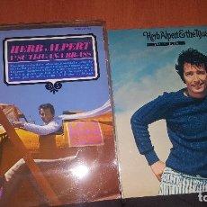 Discos de vinilo: HERB ALPERT THE TIJUANA BRASS, 6 LPS, MUY BIEN CONSERVADOS. Lote 179318728