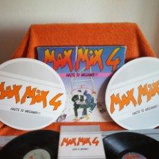 Disques de vinyle: MAX MIX 4, MUY CUIDADO (LE FALTA SÓLO LA CINTA ADHESIVA QUE VENÍA). Lote 179319041