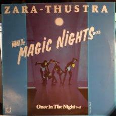 Discos de vinilo: ZARA-THUSTRA-MAGIC NIGHTS. Lote 179320566