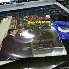 Discos de vinilo: LOS DE VALME EP SEVILLANAS 1971. Lote 179321187