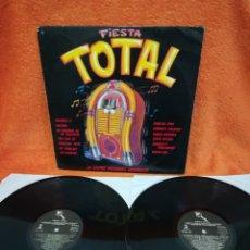 Discos de vinilo: VINILO 2XLP FIESTA TOTAL, POP ESPAÑOL RECOPILATORIO . Lote 179322240
