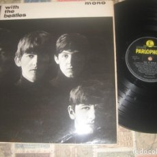 Discos de vinilo: THE BEATLES WITH THE BEATLES (PARLOPHONE 1963) ORIGINAL ENGLAND LEA DESCRIPCION DETALLADA. Lote 179322895