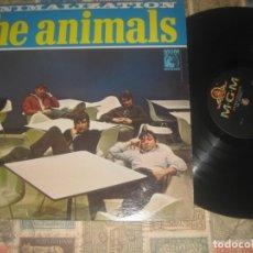 Discos de vinilo: THE ANIMALS - ANIMALIZATION - (USA-MGM-1966) OG USA GARAGE R&B EXCELENTE CONDICION LEA DESCRIPCION. Lote 179324396