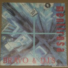 Discos de vinilo: BRAVO & DJ'S / MENTIROSA + VERSION INSTRUMENTAL (SINGLE PROMO 1990). Lote 179325313