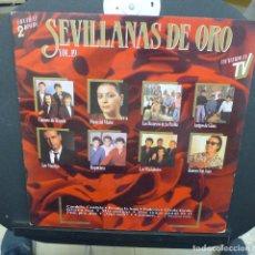 Discos de vinilo: SEVILLANAS DE ORO VOL. 19. Lote 179325408