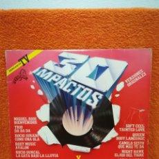 Discos de vinilo: VINILO 2XLP 30 IMPACTOS, PORTADA DESPLEGABLE . Lote 179325923