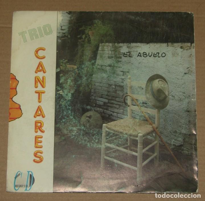 TRIO CANTARES - EL ABUELO + BAILA CON NOSOTROS - C.D. RECORD'S 1991 (Música - Discos - Singles Vinilo - Grupos Españoles de los 90 a la actualidad)