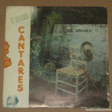 Discos de vinilo: TRIO CANTARES - EL ABUELO + BAILA CON NOSOTROS - C.D. RECORD'S 1991. Lote 179326516