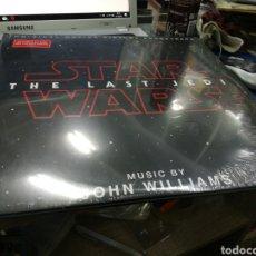 Discos de vinilo: STAR WARS THE LAST JEDI DOBLE LP 2018 PRECINTADO. Lote 179326856