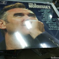 Discos de vinilo: THIS IS MORRISSEY LP 2018 PRECINTADO. Lote 179327457
