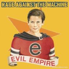 Discos de vinilo: RAGE AGAINST THE MACHINE EVIL EMPIRE LP. Lote 179330445