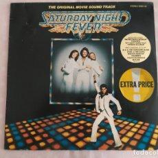 Discos de vinilo: SATURDAY NIGHT FEVER (THE ORIGINAL MOVIE SOUND TRACK). Lote 179330745