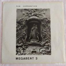 Discos de vinilo: THE SUN CORPORATION – MEGABEAT 3. Lote 179331882