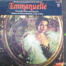 Discos de vinilo: B.S.O. - PERRE BACHELET & HERVÉ ROY - EMMANUELLE (WARNER,1975). Lote 179332767