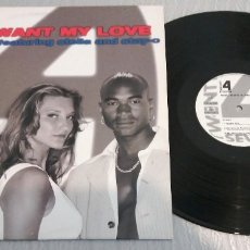 Discos de vinilo: TWENTY 4 SEVEN FEATURING STELLA AND STAY-C / IF YOU WANT MY LOVE/ MAXI-SINGLE 12 INCH. Lote 179333515