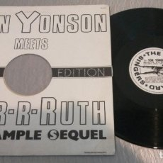 Discos de vinilo: THE DAVE HOWARD SINGERS / YON YONSON MEETS DR. R-R-RUTH / MAXI-SINGLE 12 INCH. Lote 179335172